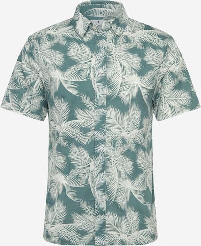 Revolution Hemd 'Milas' in dunkelgrün / weiß, Produktansicht