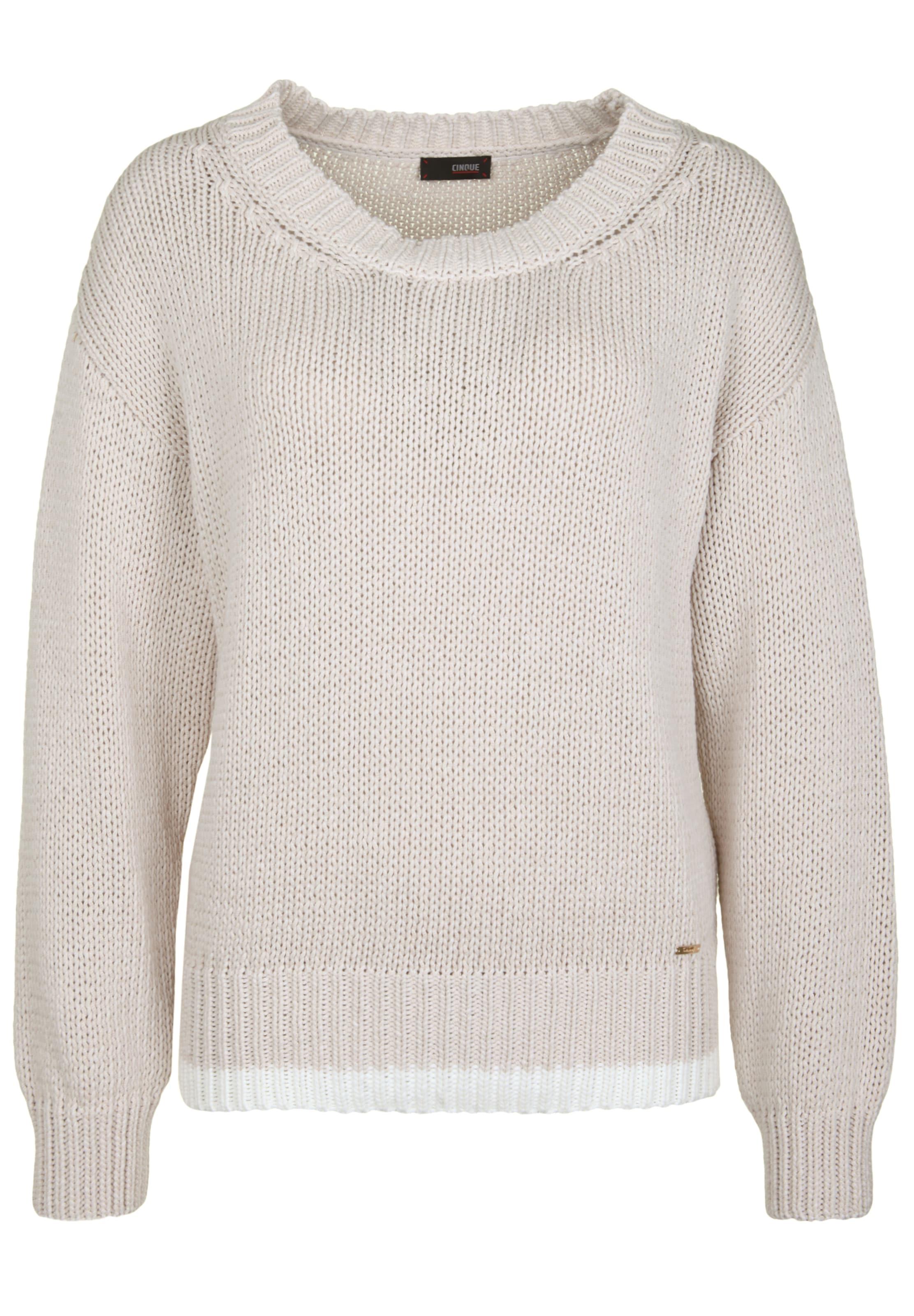 'ciselina' BeigeWeiß Cinque Pullover In mn08wN