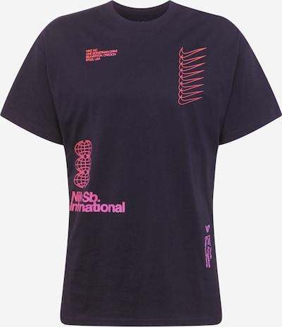 Nike SB Shirt in pink / schwarzmeliert, Produktansicht