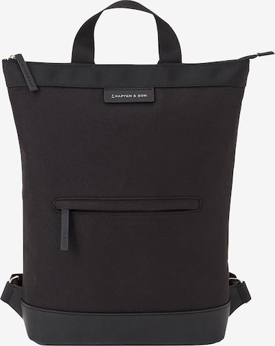 Kapten & Son Backpack 'Umeå' in black, Item view