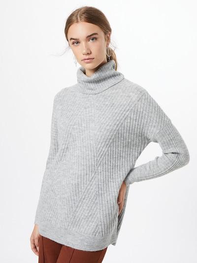 ABOUT YOU Pull-over 'Enara' en gris, Vue avec modèle