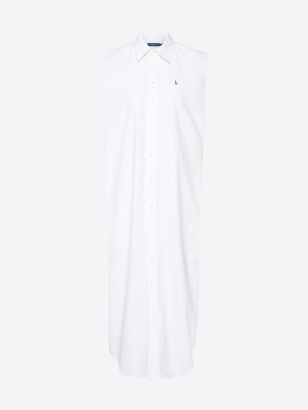 Lauren Dress' Dr Stnfrd Robe Polo En chemise sleeveless Ralph Blanc 'sl casual w5qYzOC