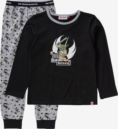 LEGO WEAR Schlafanzug 'STAR WARS' für Jungen in graumeliert / schwarz, Produktansicht