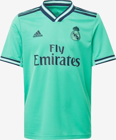 ADIDAS PERFORMANCE Fußballtrikot 'Real Madrid 19/20 3rd' in nachtblau / jade, Produktansicht