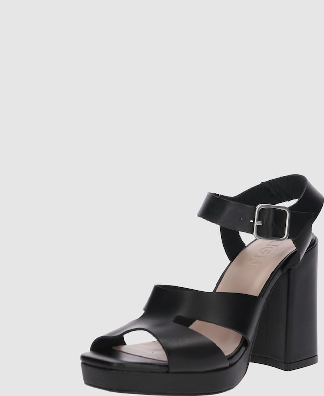 Zign Pumps 'Heeled Sandals Leder Markenrabatt