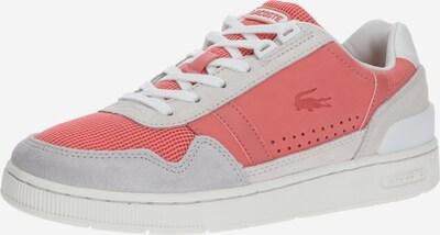 LACOSTE Sneaker 'T-CLIP 120 3 US SFA' in koralle / weiß, Produktansicht