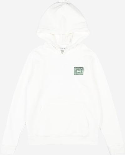 LACOSTE Sweatshirt in weiß, Produktansicht