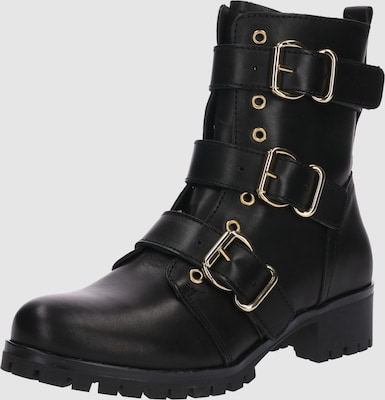 BULLBOXER Boots in Zwart