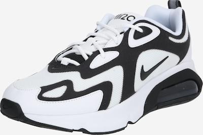 Nike Sportswear Baskets basses 'AIR MAX 200' en noir / blanc, Vue avec produit