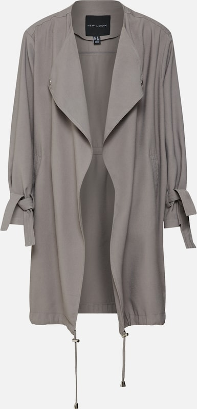 New 'cally Waterfall Mi saison Duster' Gris Look Veste En dxthQsrC