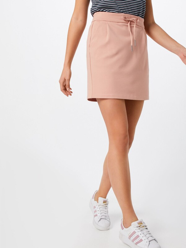 VERO MODA Rock 'VMEVA MR SHORT SKIRT NOOS' in rosa: Frontalansicht