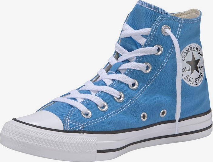 CONVERSE Sneakers hoog 'Chuck Taylor All Star Hi Seasonal' in de kleur Lichtblauw / Wit, Productweergave