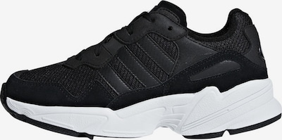 ADIDAS ORIGINALS Sneaker 'Yung 96' in schwarz / weiß, Produktansicht