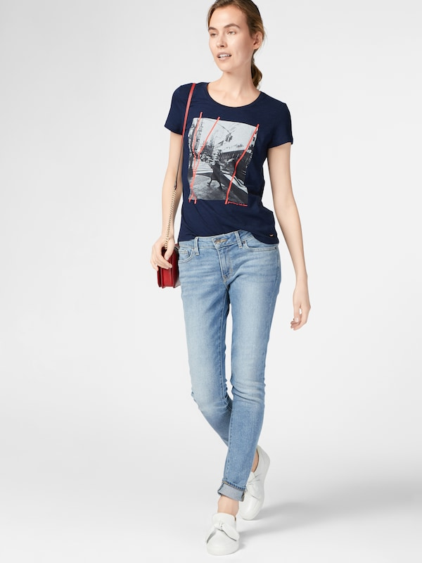 TOM TAILOR DENIM Photoprint T-shirt