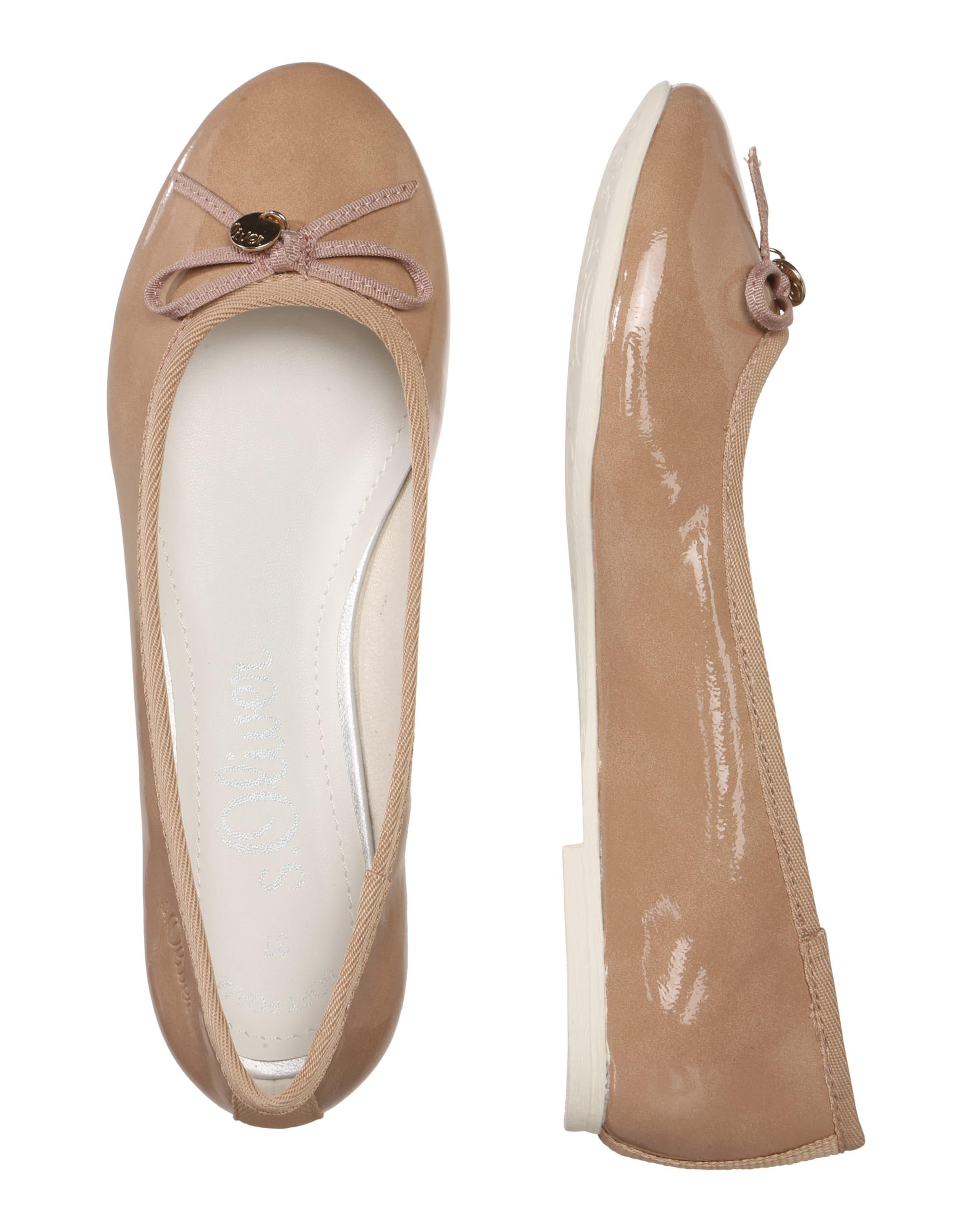s.Oliver RED LABEL Ballerina in Lackleder-Optik 100% Original Günstiger Preis Billig Verkauf 2018 Neue Rabatt Extrem 100% Authentisch Verkauf Online  Wie Viel Tc0dL