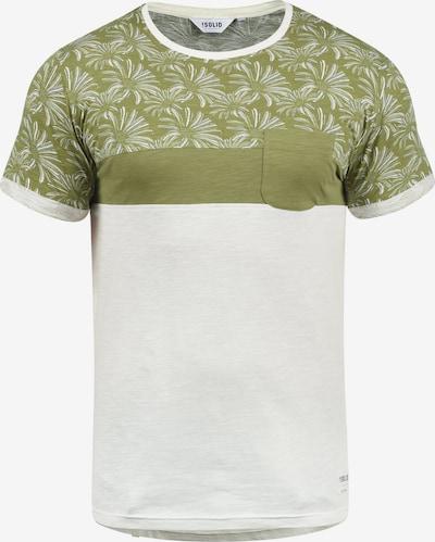 !Solid Rundhalsshirt 'Florian' in grün, Produktansicht