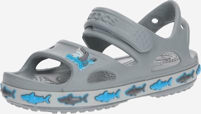 Crocs Chaussures ouvertes 'FunLab Shark Band' en gris clair, Vue avec produit