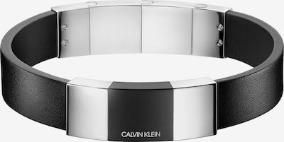 Calvin Klein Armband in schwarz / silber, Produktansicht