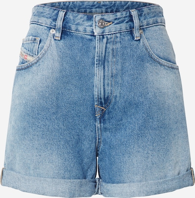 Jeans DIESEL pe denim albastru, Vizualizare produs