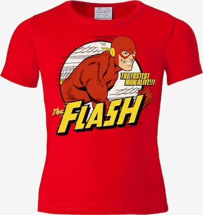 LOGOSHIRT T-Shirt in gelb / rot / weiß, Produktansicht