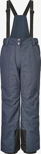 KILLTEC Outdoor broek 'Gandarina Denim' in de kleur Duifblauw / Zwart, Productweergave
