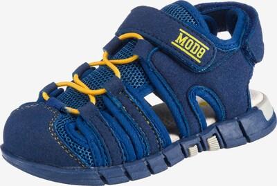MOD8 Sandalen 'Tribiki' in blau / gelb, Produktansicht
