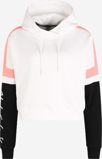 Superdry Sportsweatshirt in koralle / schwarz / silber / weiß, Produktansicht