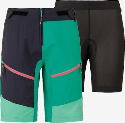CMP Short 'Free Bike' in nachtblau / grün / mint, Produktansicht