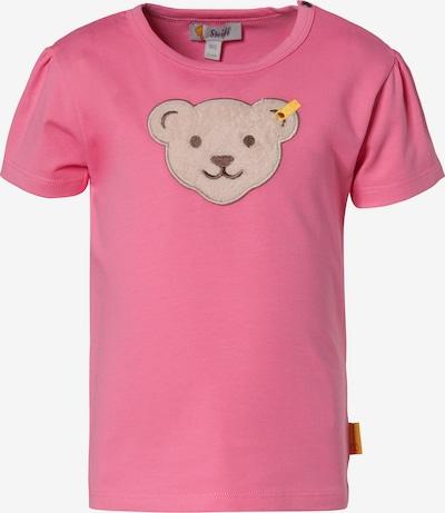 STEIFF T-Shirt in hellbraun / pink, Produktansicht