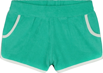 Shiwi Broek 'Girls Terry Short' in de kleur Turquoise, Productweergave