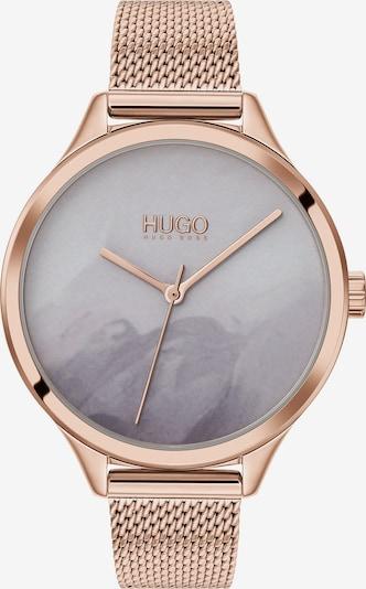 HUGO Uhr in rosegold / pink, Produktansicht