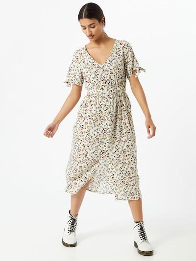 VILA Kleid 'LARSA' in elfenbein / mischfarben, Modelansicht