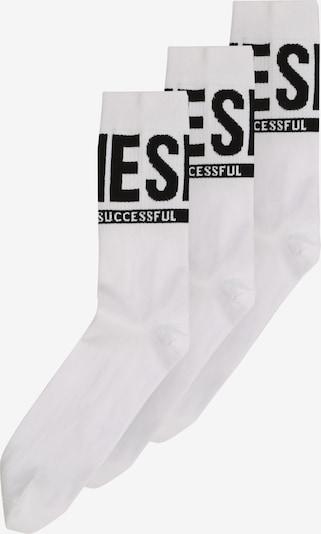 DIESEL Socken 'RAY' in schwarz / weiß, Produktansicht