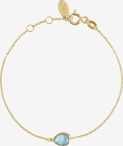 Latelita Armband in aqua / gold, Produktansicht