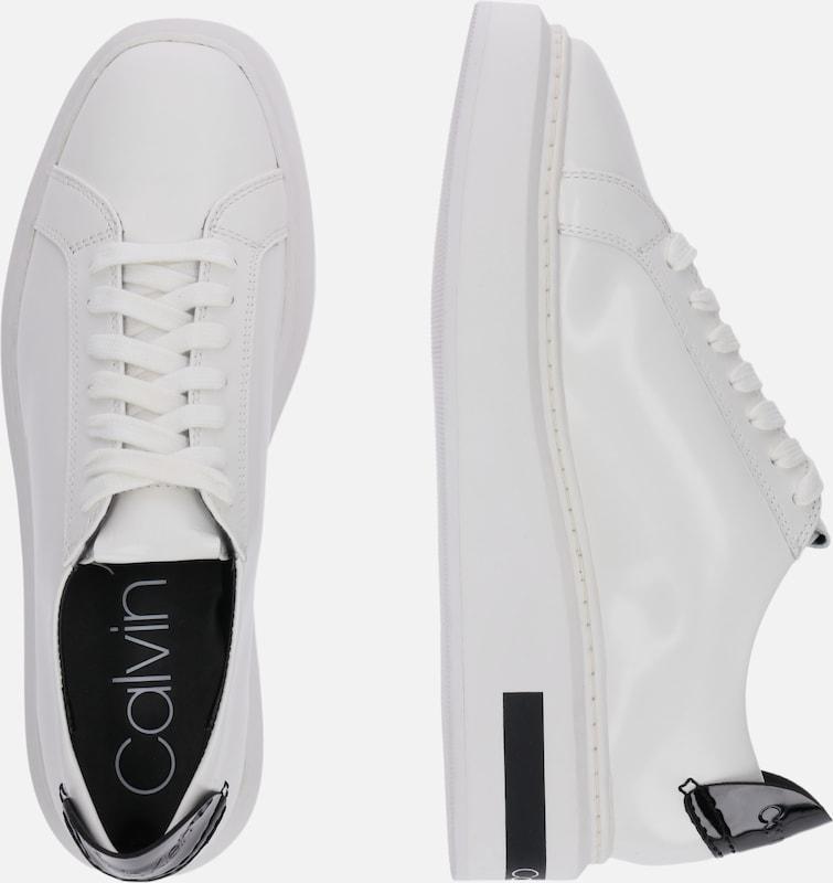 Calvin Klein Trampki niskie 'TESIR' w kolorze białym | ABOUT YOU