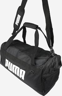 PUMA Sporttasche in schwarz / weiß