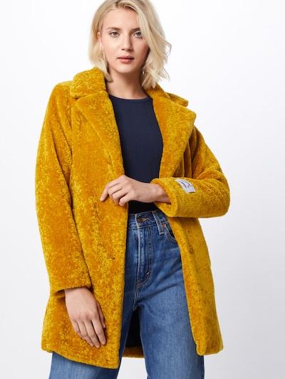 RINO & PELLE Přechodný kabát 'Catwalk' - žlutá, Model/ka