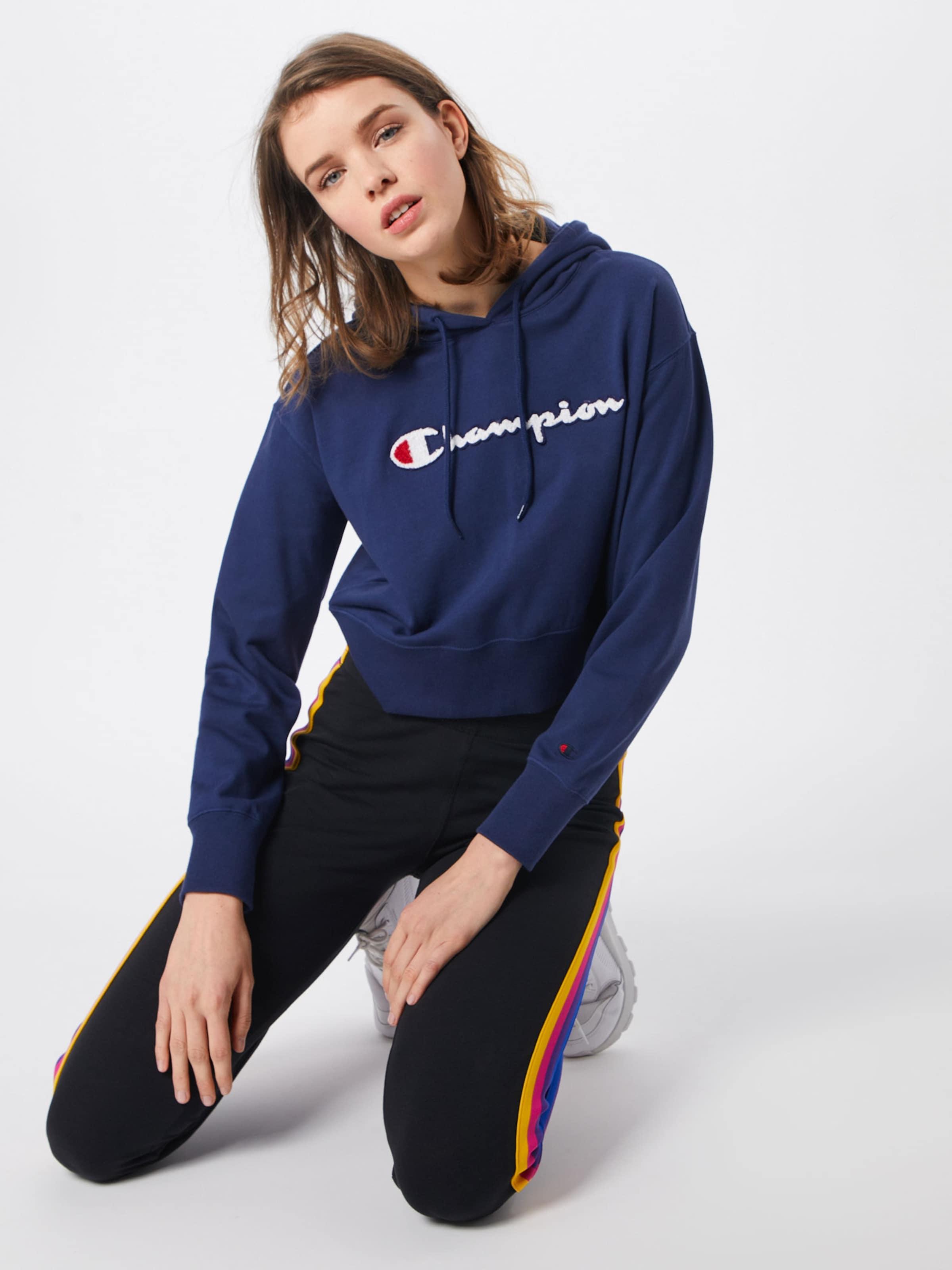 shirt Sweatshirt' Apparel Zip Champion Bleu 'rochester Authentic Marine Sweat En Full Athletic Hooded NnOZX0Pk8w