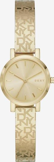 DKNY Uhr in gold, Produktansicht