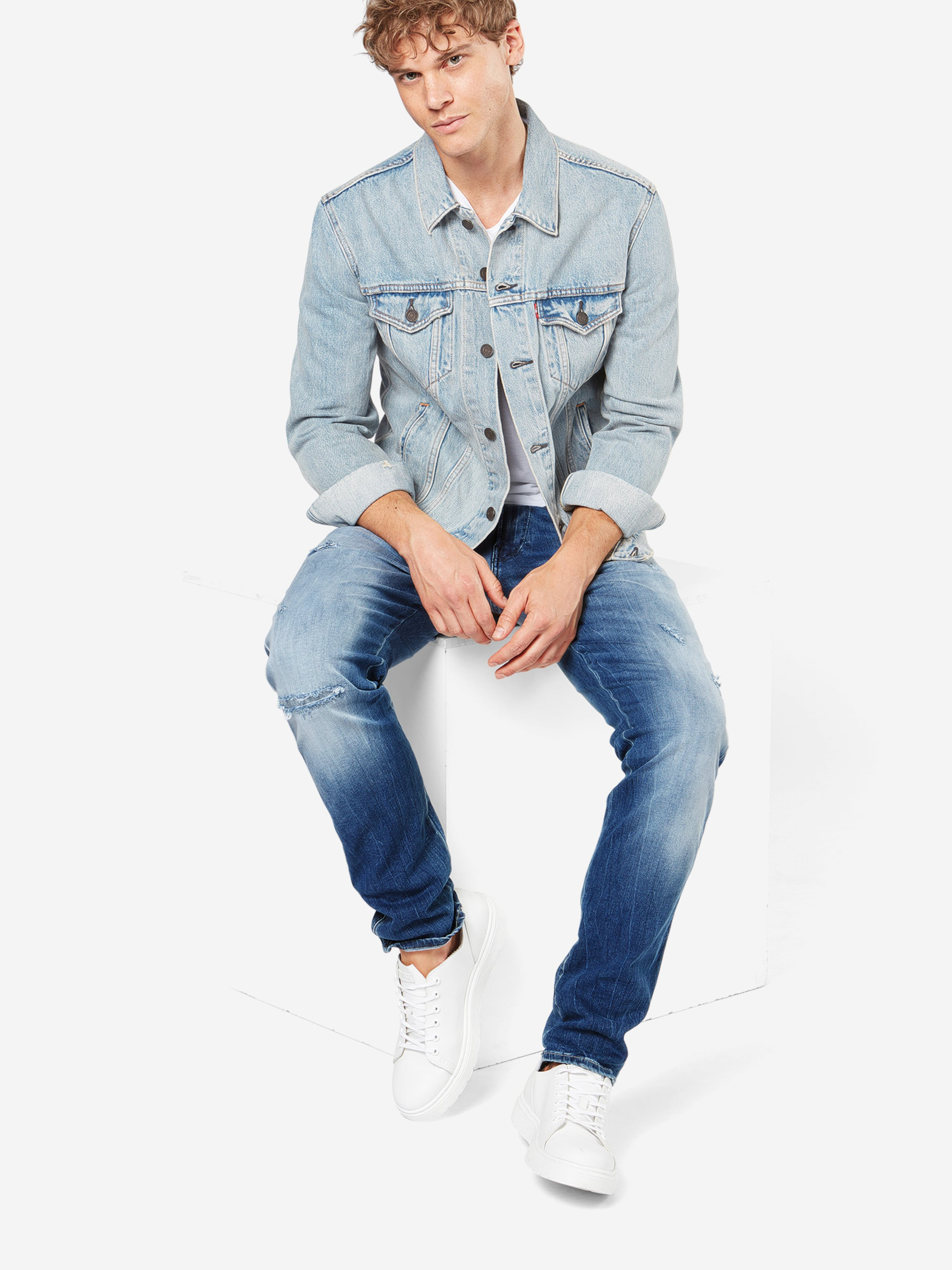 Used Jeans Im In Blue Replay style 'anbass' Denim hxBQtrdsCo