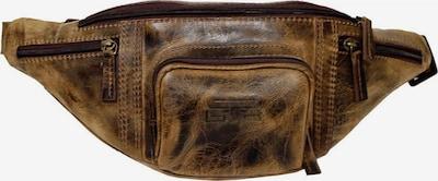 MIKA Gürteltasche Leder 36 cm in braun, Produktansicht