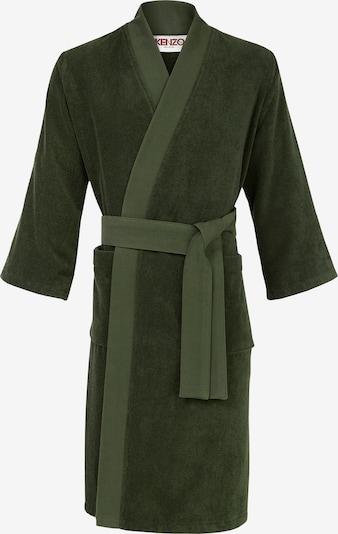 Kenzo Maison Bademantel 'ICONIC' in grün / khaki / dunkelgrün, Produktansicht
