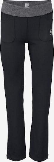 H.I.S Funktions-Jazzpants in grau / schwarz, Produktansicht