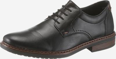 RIEKER Chaussure à lacets en marron / noir, Vue avec produit