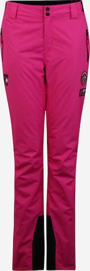 Superdry Snow Pantalon de sport en rose / noir, Vue avec produit