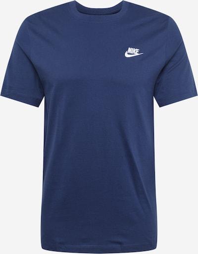 Nike Sportswear Skjorte i navy / hvid, Produktvisning