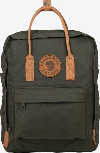 Fjällräven Rucksack 'Kånken No.2' in dunkelgrün, Produktansicht