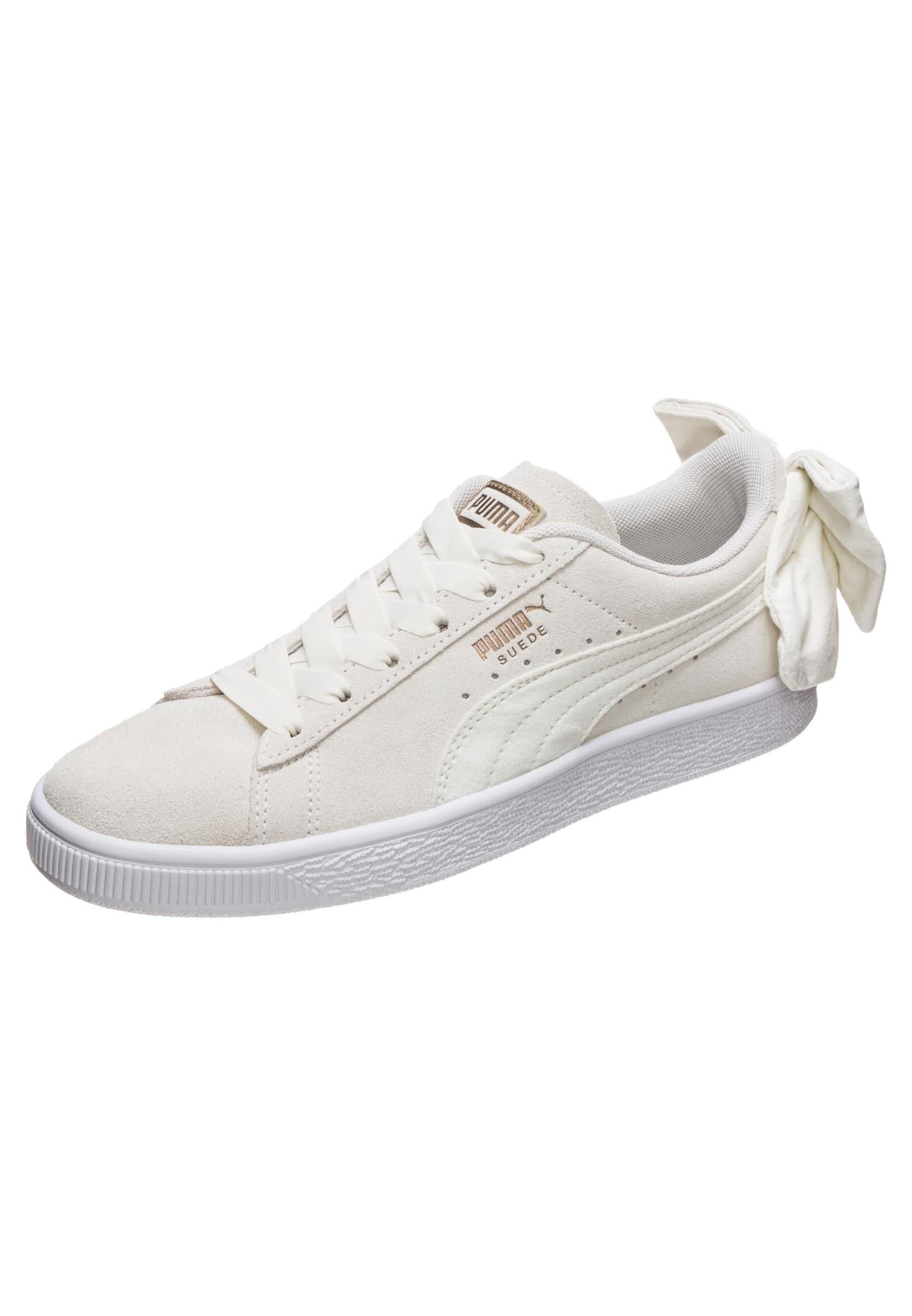 Sneaker 'suede Puma Beige In Bow' QBExoreWdC