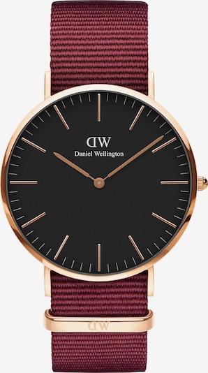 Daniel Wellington Uhr 'Classic 40 Roselyn' in rosegold / feuerrot / schwarz, Produktansicht