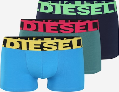 DIESEL Boxershorts 'Shawn' in navy / rauchblau / aqua / mischfarben, Produktansicht